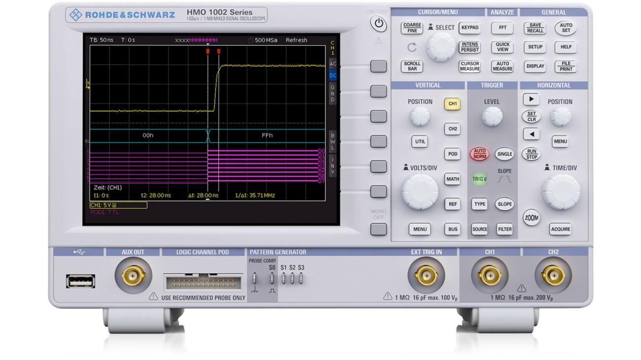 HMO1002 oscilloscope