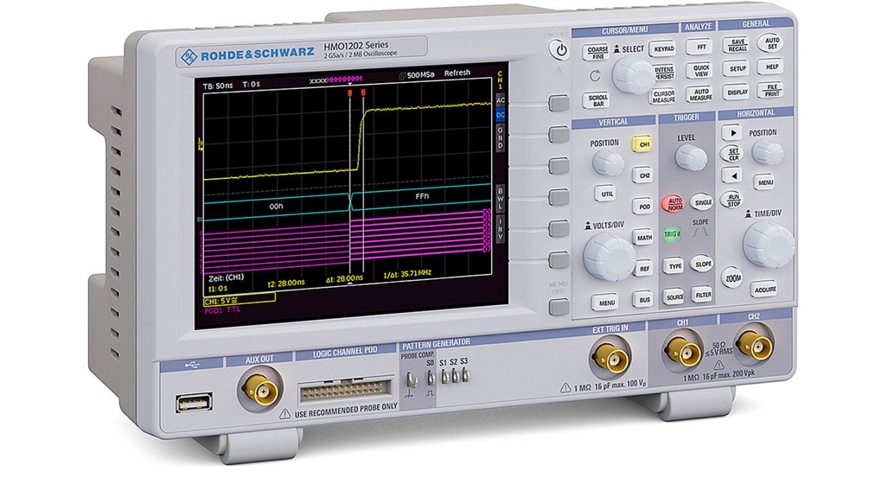 R&S®HMO1202 Digital Oscilloscope