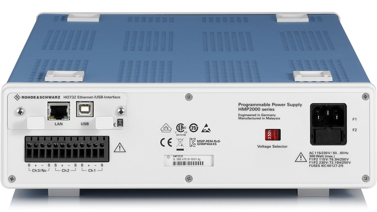 R&S®HMP2030 Power supply series