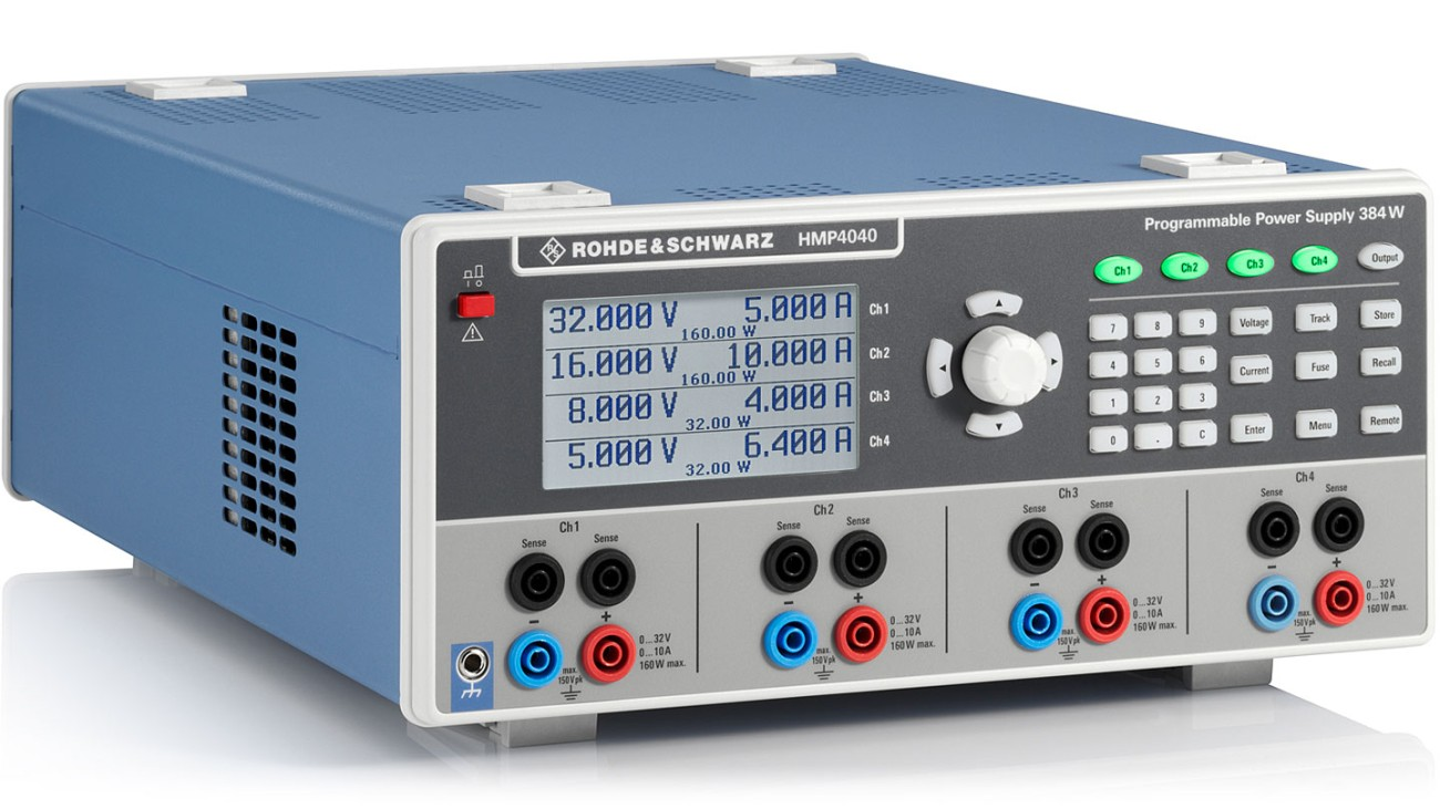 R&S®HMP4000 Power Supply