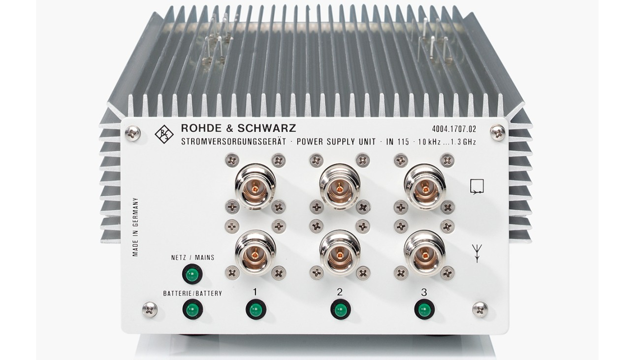 R&S®IN115 Power supply unit