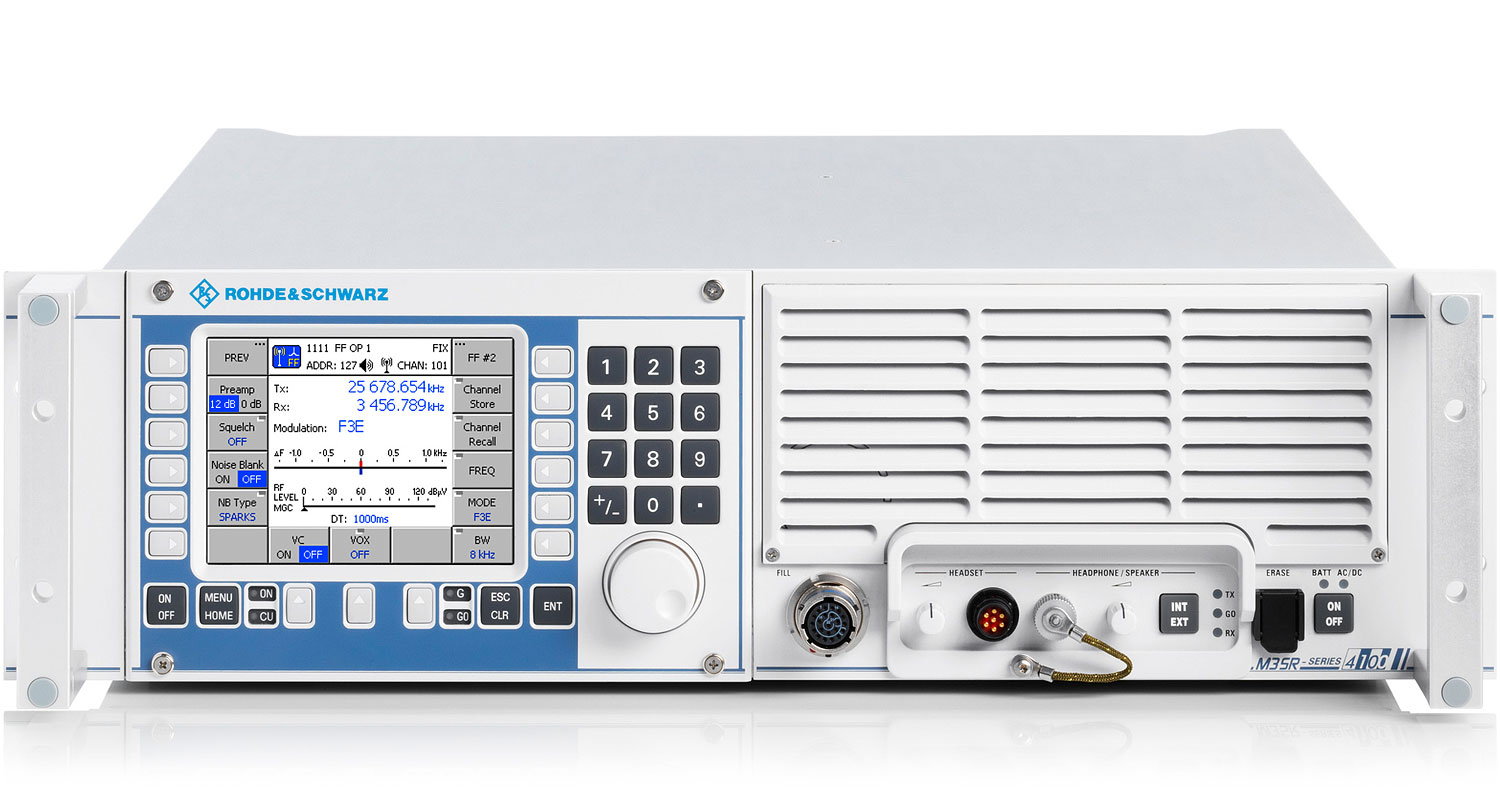 R&S®M3SR Series4100 Software Defined Radios | Overview