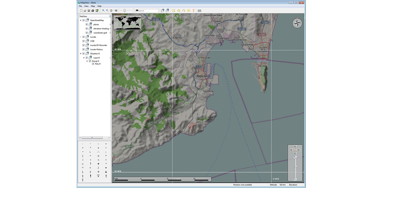 R&S®MapView Basic Module of R&S®MapView Geographic