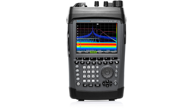 R&S®MNT100 RF Interference Locator - polychrome analysis