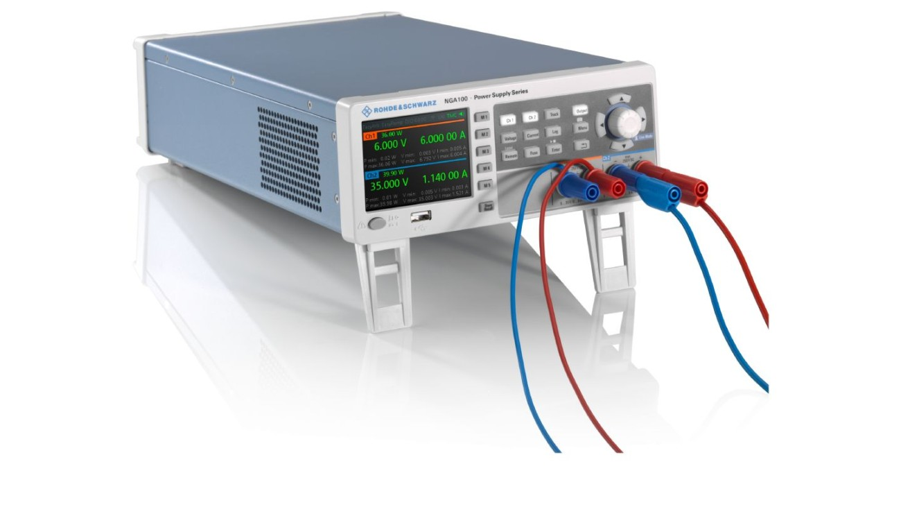 R&S®NGA100 power supply series 3D view