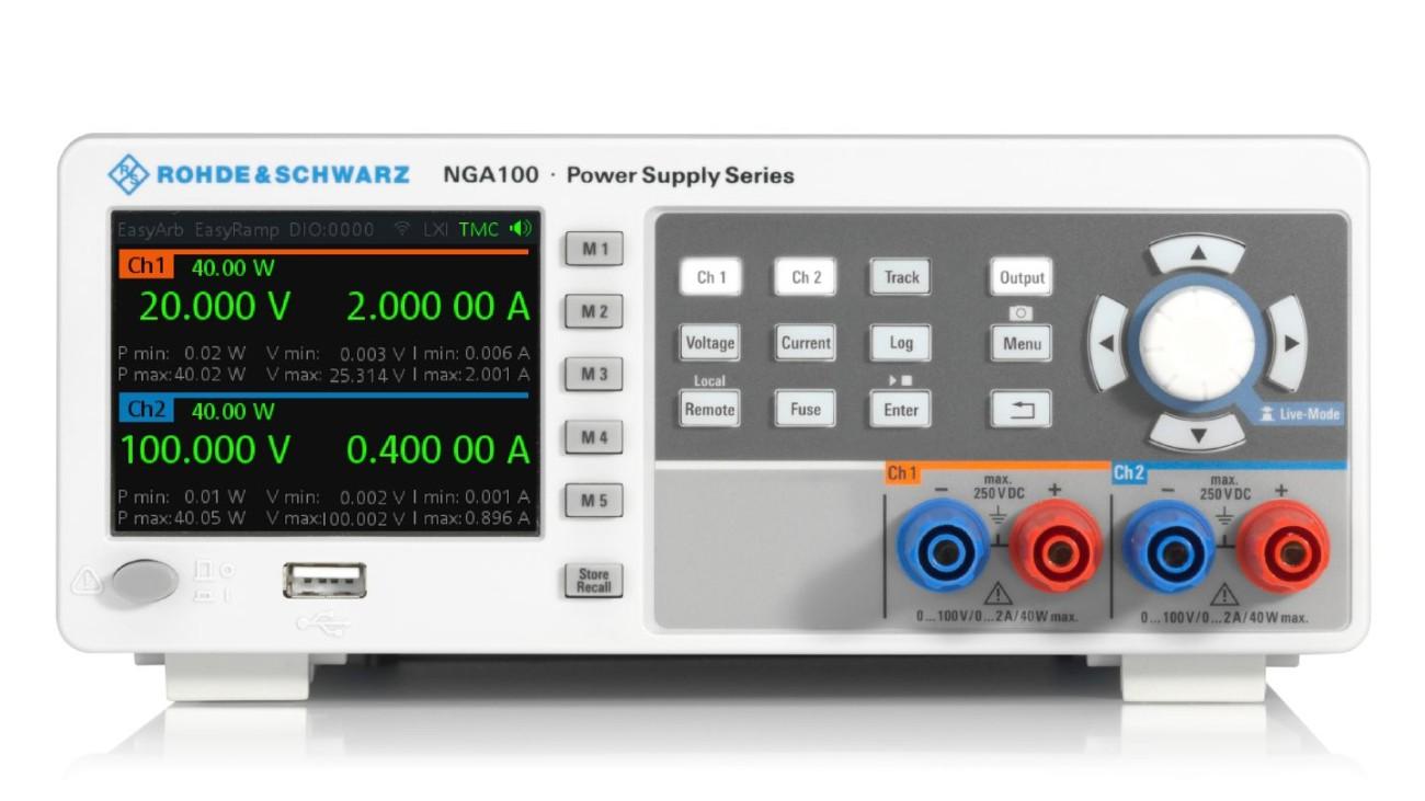 R&S®NGA100 power supply series