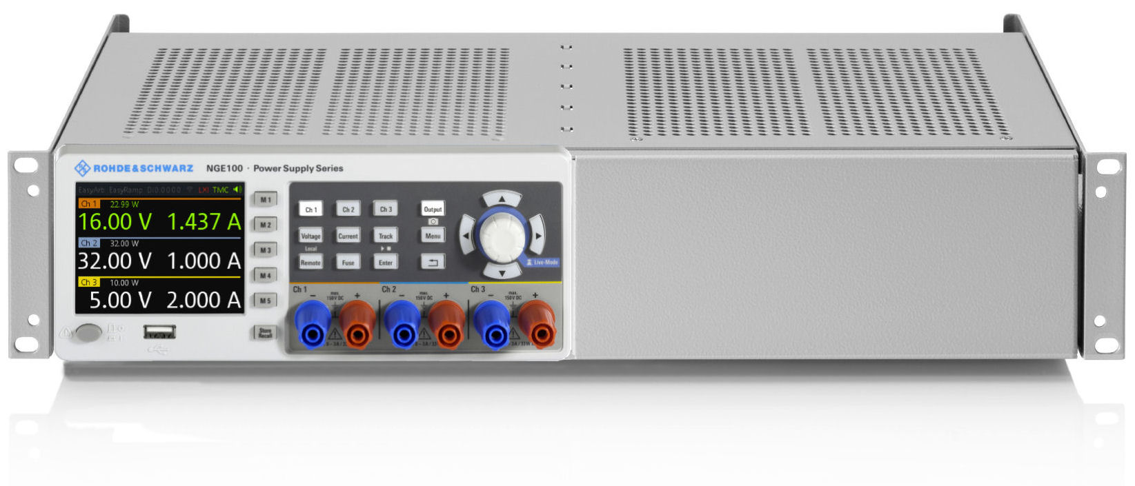 Rshmc804x Dc Power Supply Rohde Schwarz Solutions Isolated With Virtual Remote Sense 19 Rackmount Kit