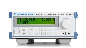 R&S®NGMO Single/Dual Channel Analyzer/Power Supply