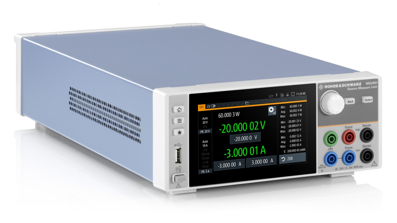 R&S®NGU Source measure units