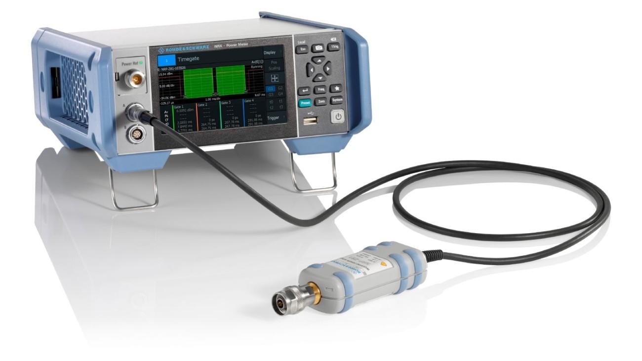 R&S®NRP-Z8x wideband power sensors