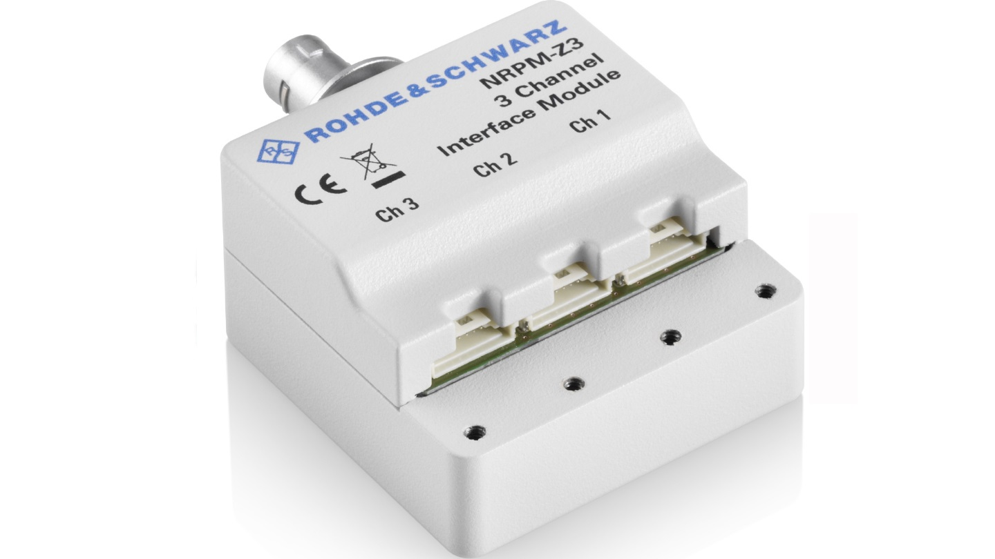 R&S®NRPM-Z3 interface module