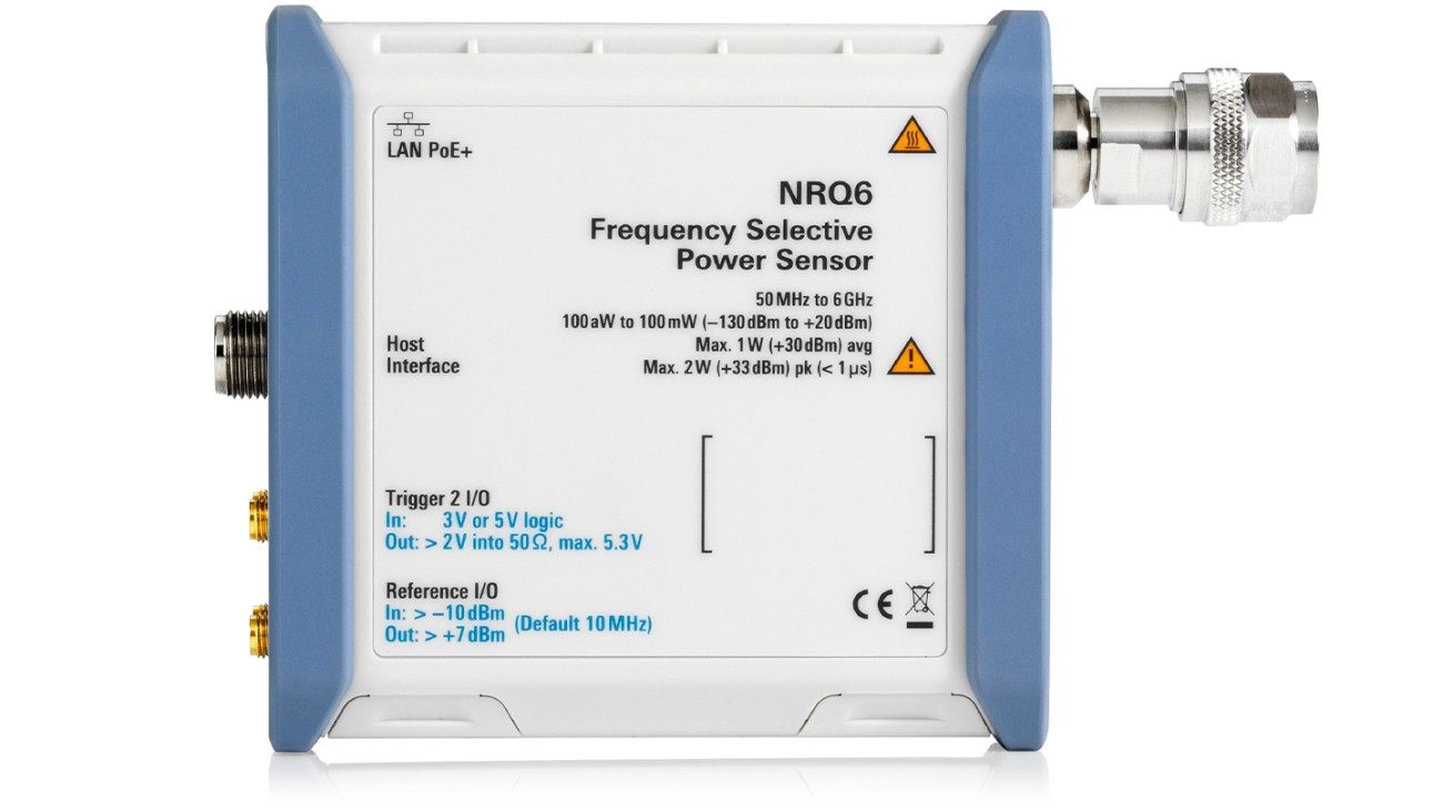 R&S®NRQ6 Frequency selective power sensor