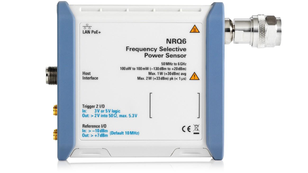 R&S®NRQ6 Frequency selective power sensor