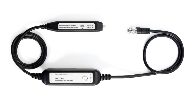 RTZD08 Active differential probe, 800 GHz, BNC interface