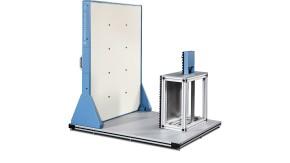 R&S®QAR Automotive radome scanner - panel including radome mounting table