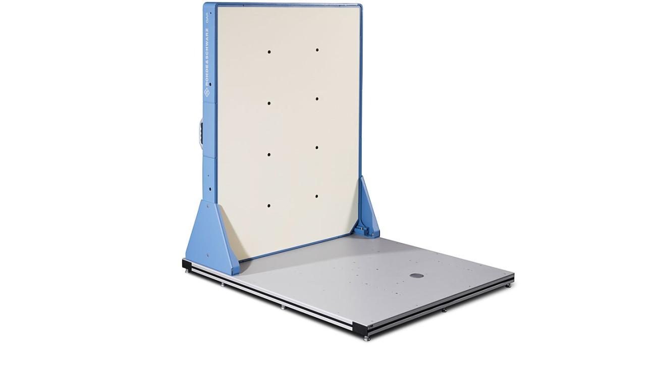 R&S®QAR Automotive radome scanner - panel mounted on bottom plate
