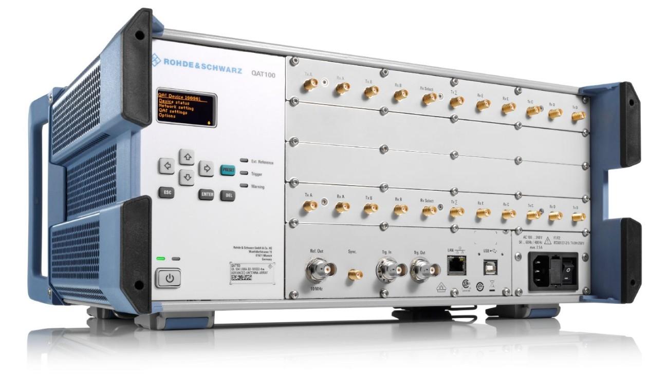 R&S®QAT100 Advanced antenna array