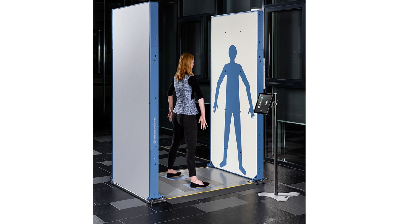 R&S®QPS Quick Personnel Security Scanner