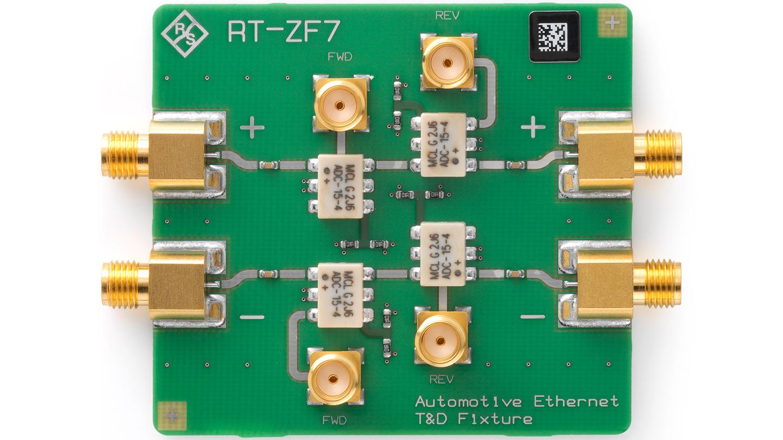 R&S®RT-ZF7 Automotive T&D Fixture