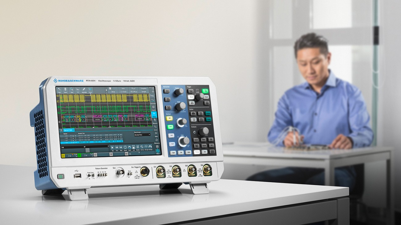 The oscilloscope R&S®RTA4000