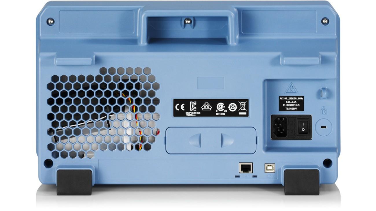 R&S®RTB2000 oscilloscope, rear view