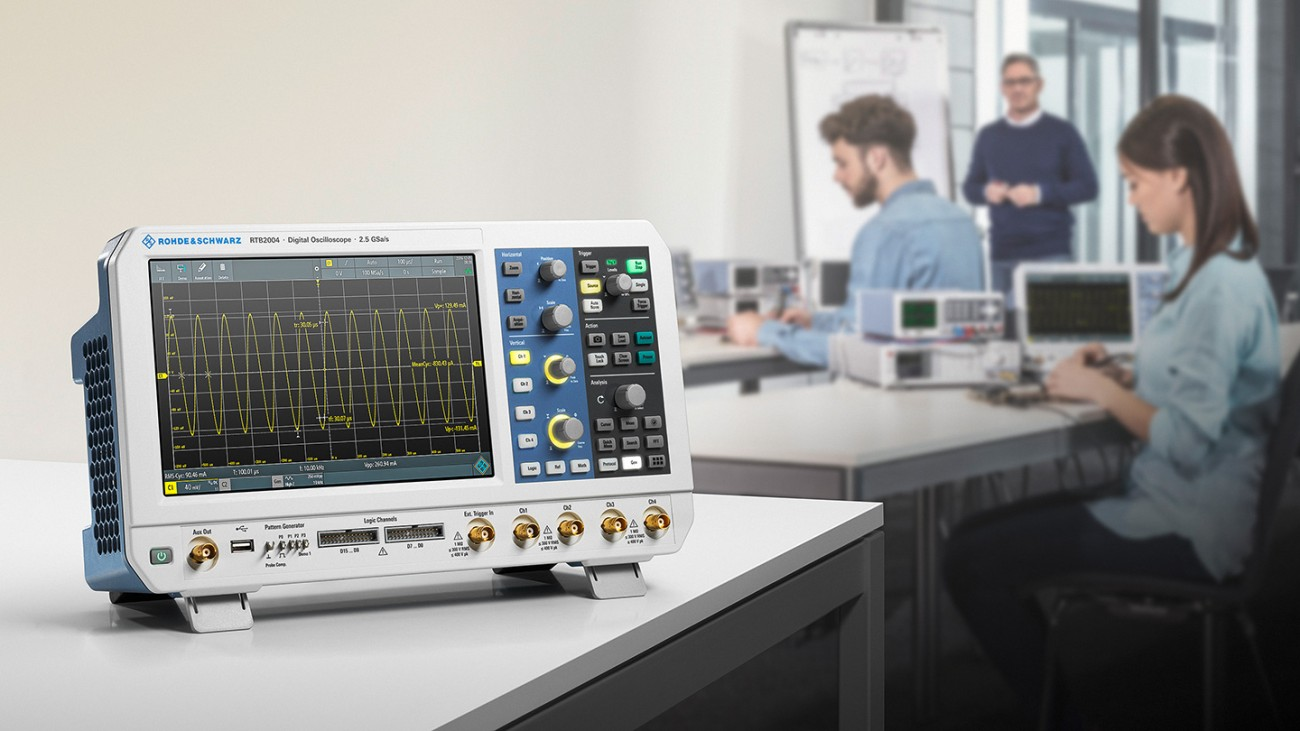 The oscilloscope R&S®RTB2000
