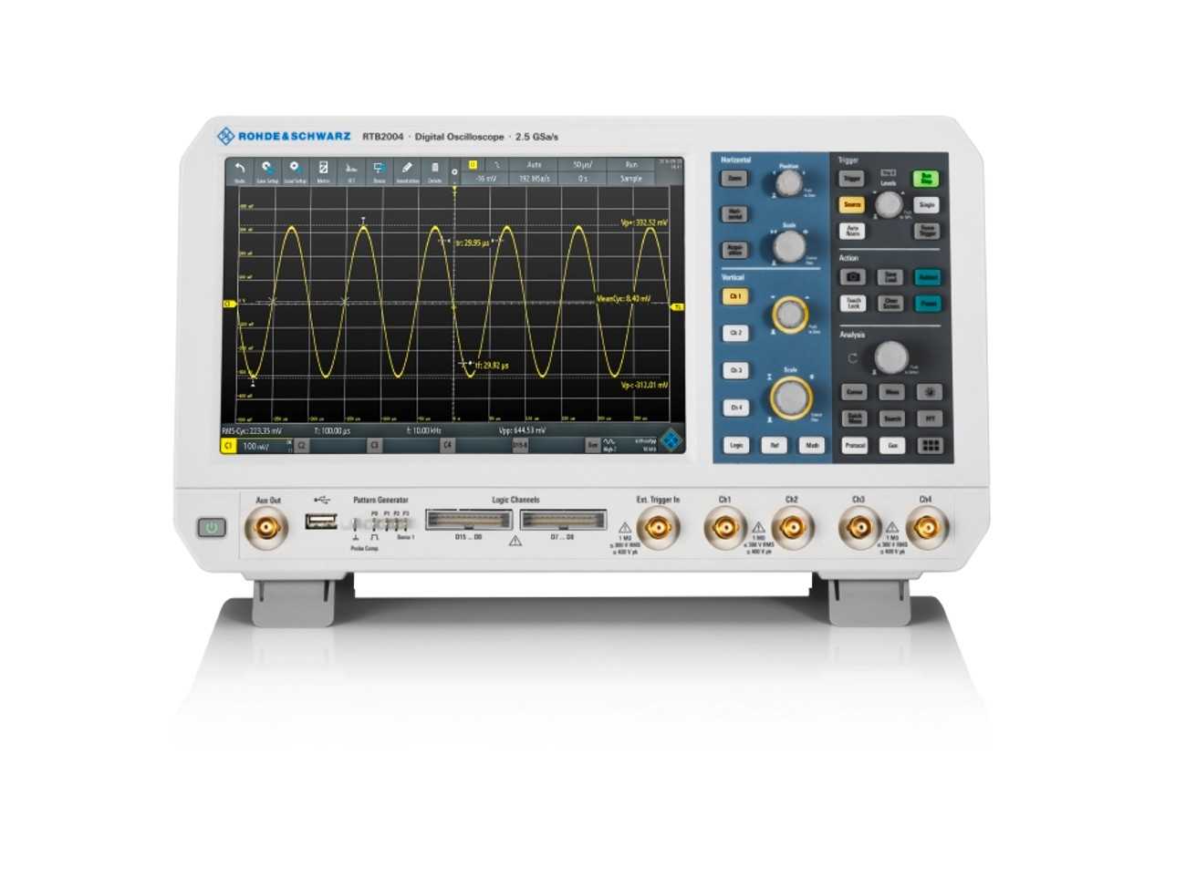 10 years Rohde & Schwarz oscilloscopes
