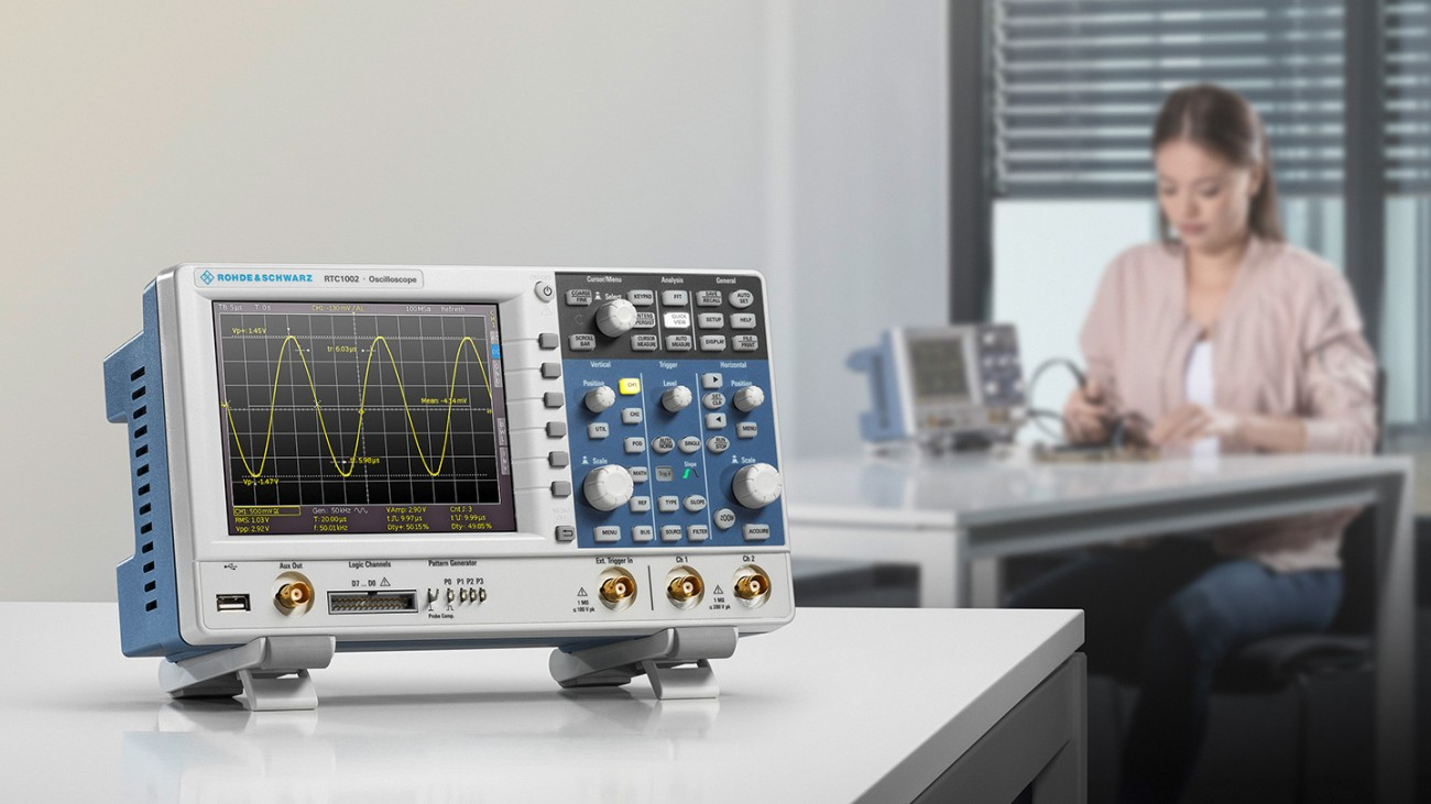 The oscilloscope R&S®RTC