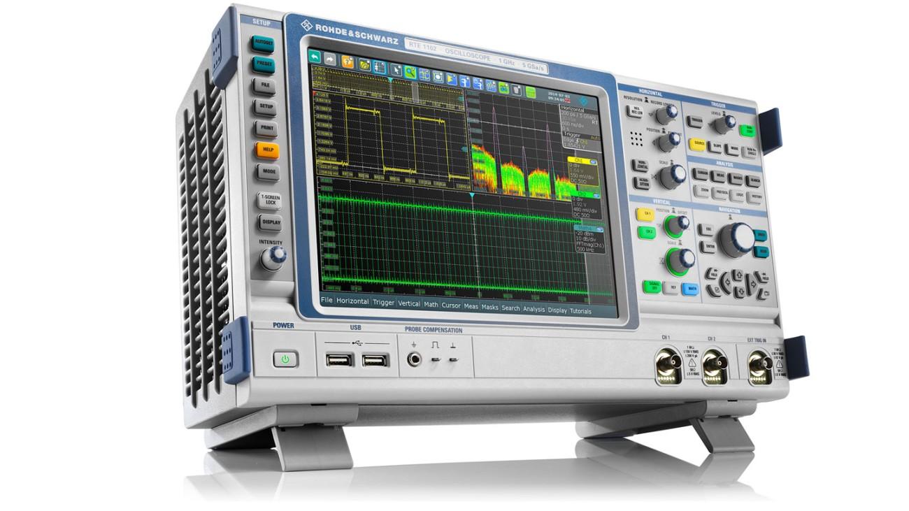 Rsrte1000 Oscilloscope Rohde Schwarz Generator Circuit Breaker Ebay