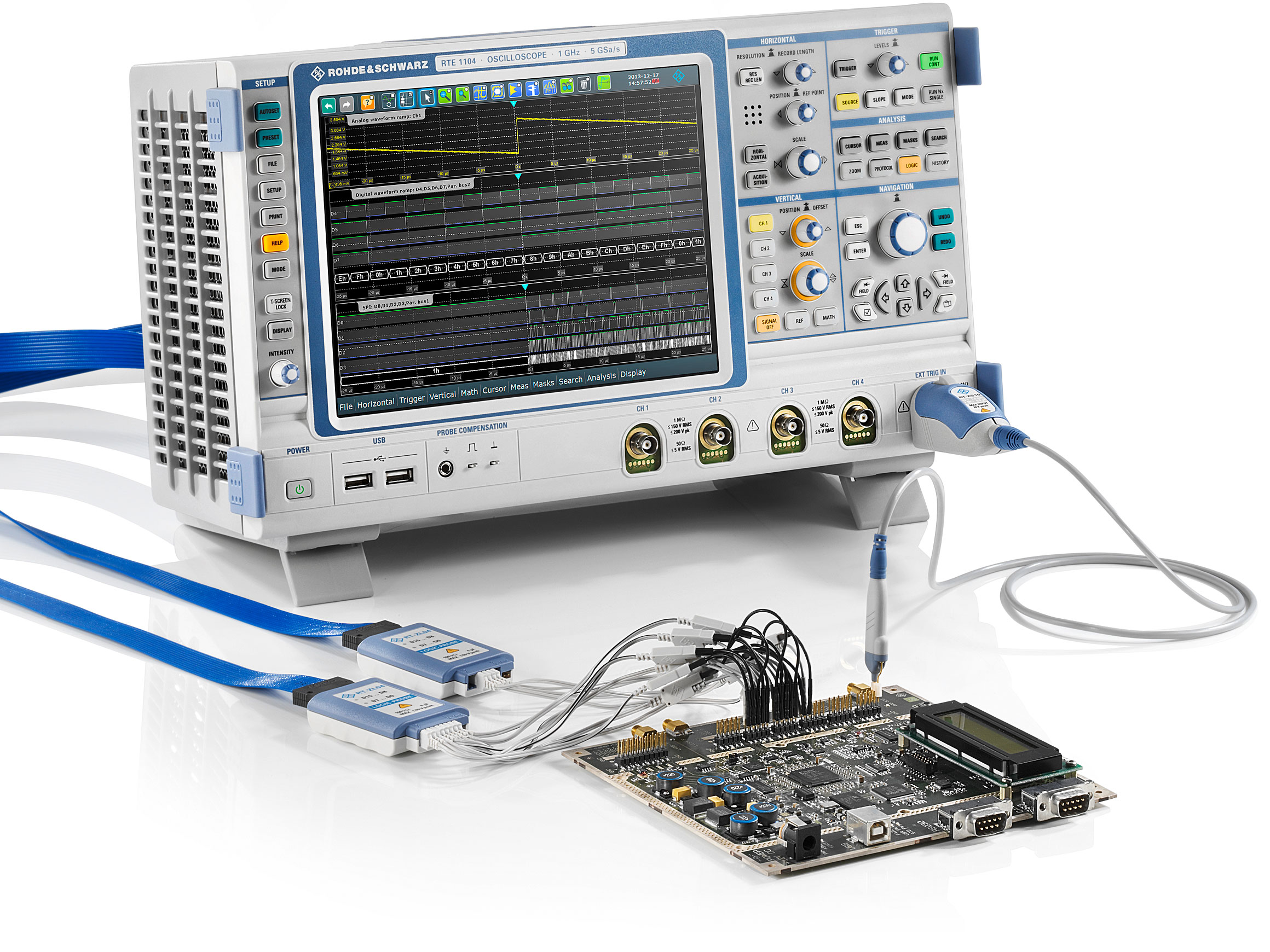 Rsrte1000 Oscilloscope Rohde Schwarz Transmitter Circuit Board Hlly 30mw Pll Fm Available Options