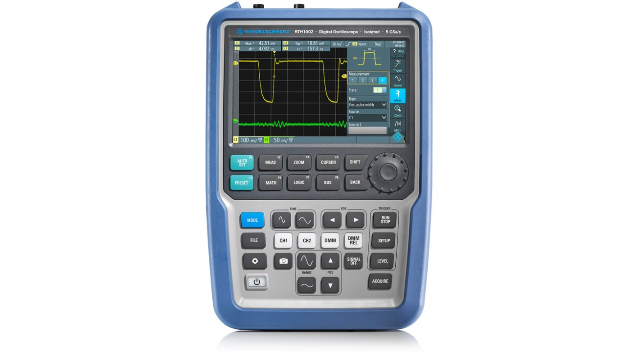 R&S®Scope Rider handheld oscilloscope