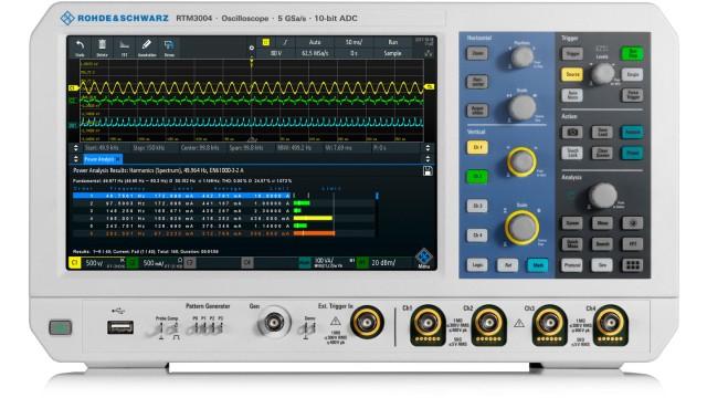 R&S®RTM3000 oscilloscope