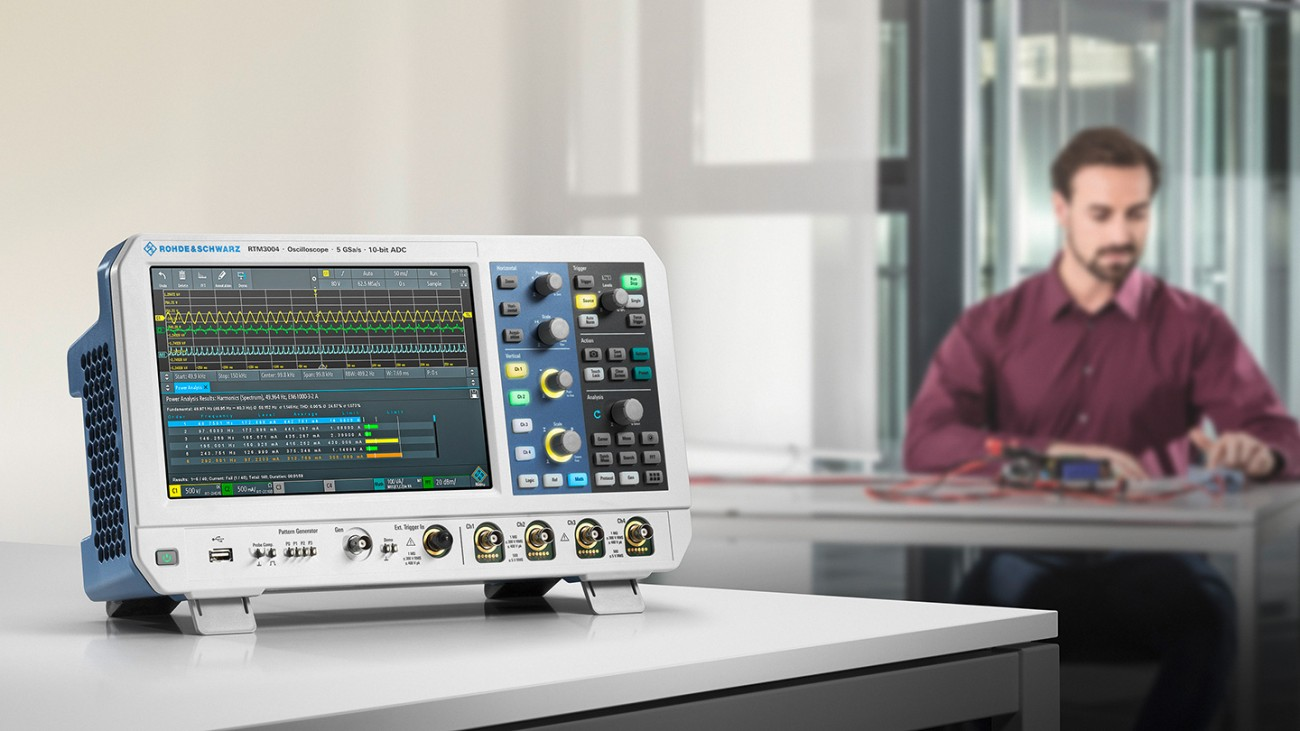 The oscilloscope R&S®RTM3000