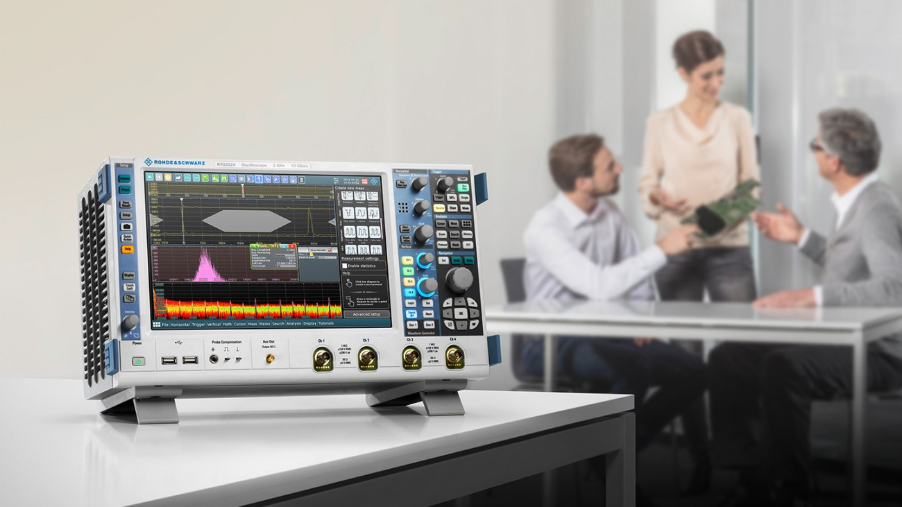 R&S®RTO2000 oscilloscope from Rohde & Schwarz