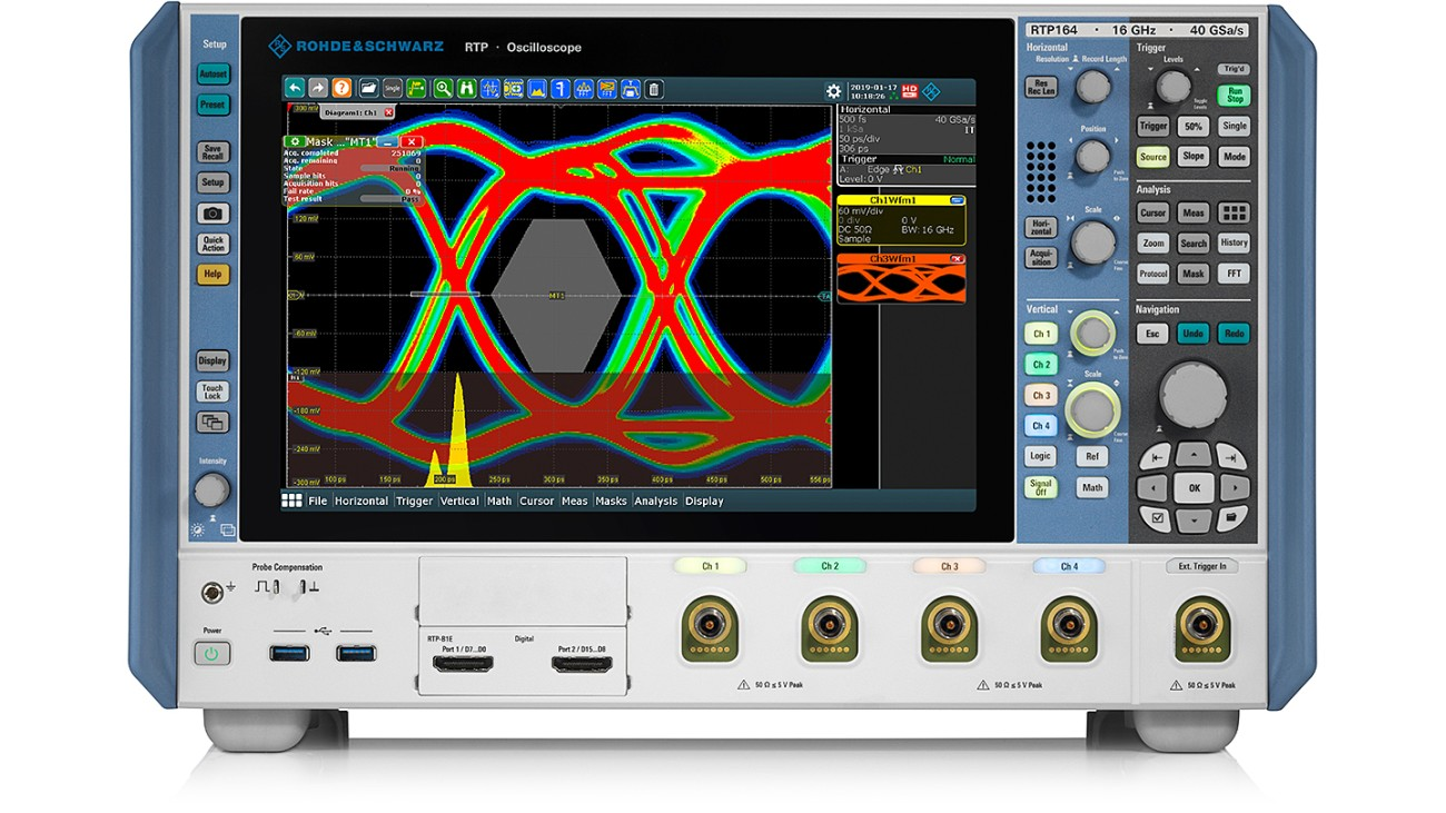 R&S®RTP oscilloscope