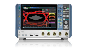 "Rohde & Schwarz introduces the new high-performance R&S RTP family, expanding its oscilloscope portfolio in keeping with its motto ""Oscilloscope Innovation. Measurement Confidence."""