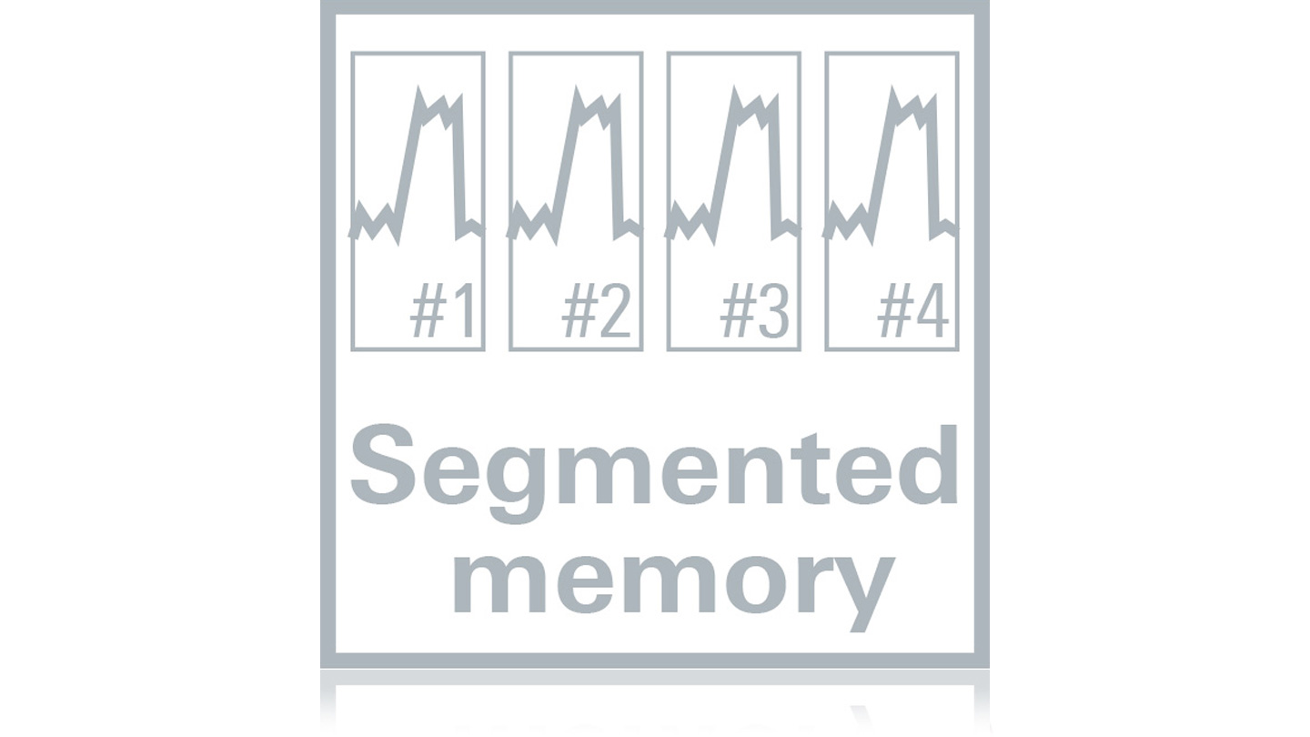 History and segmented memory