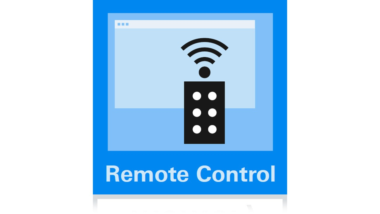 Web interface remote control