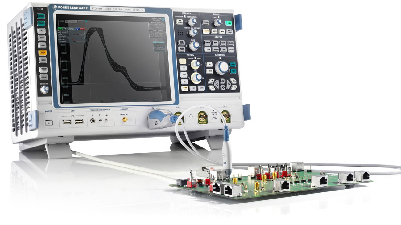 Digital Oscilloscope - Software - Compliance-Tests