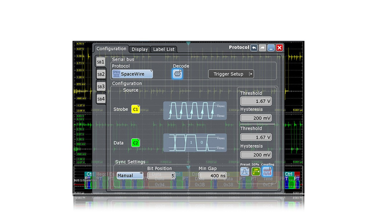 Oscilloscope Software RTx-K65
