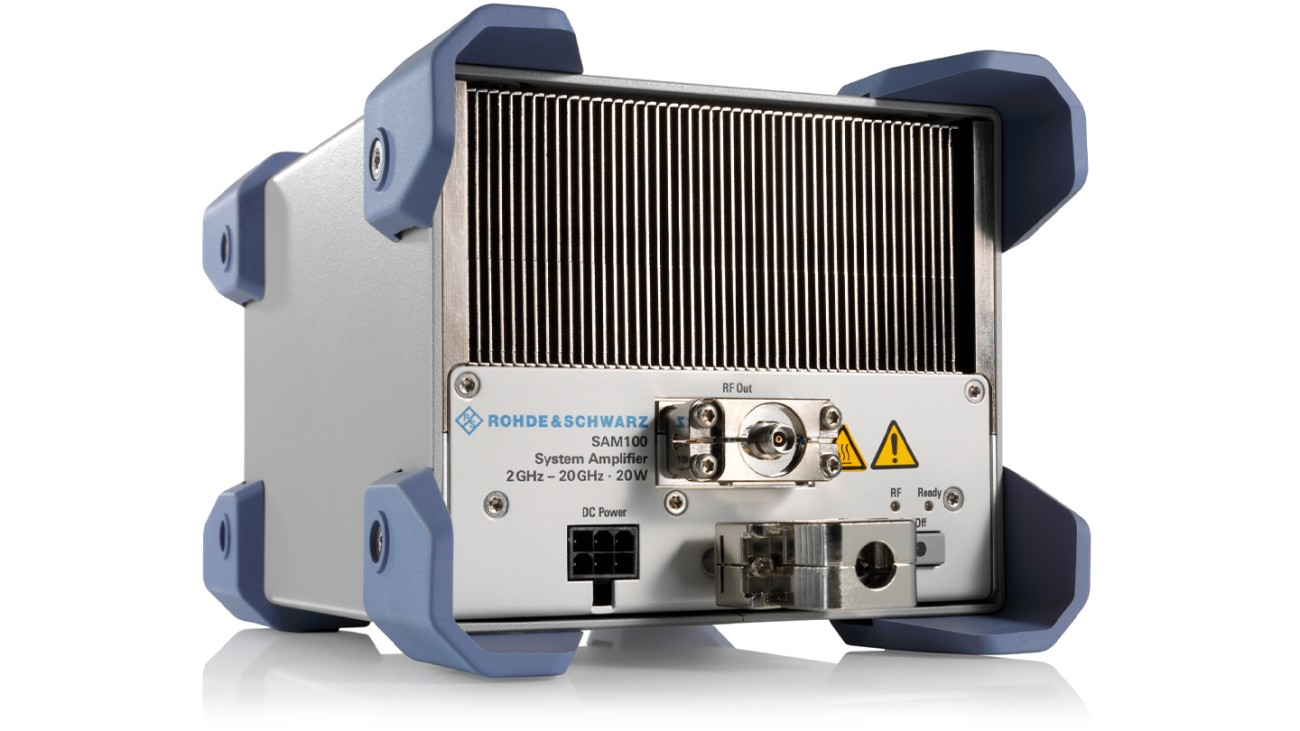 R&S®SAM100 System amplifier