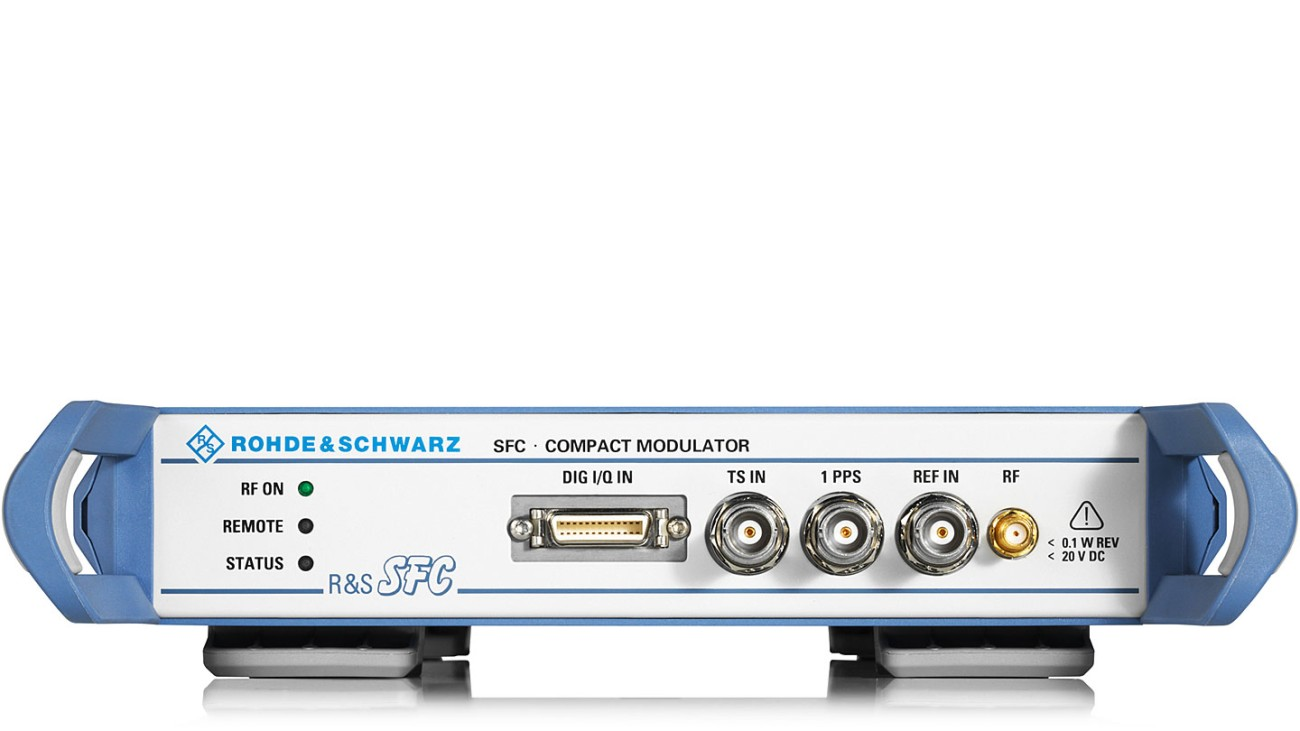 R&S®SFC compact modulator
