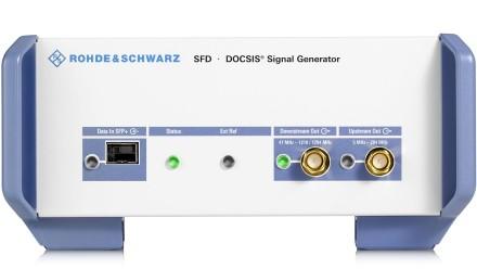 R&S®SFD DOCSIS® Signal Generator