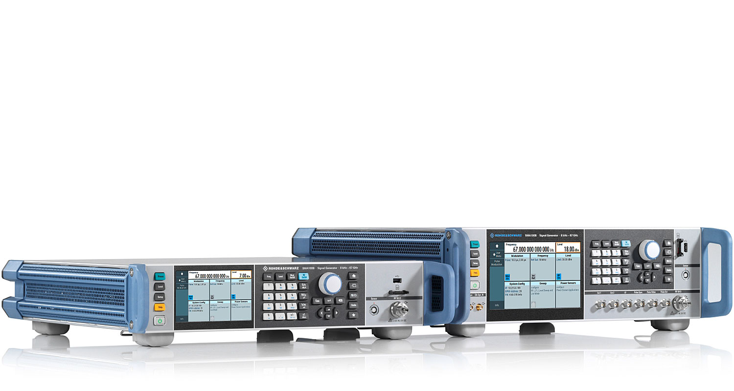 R&S®SMA100B RF and Microwave Signal Generator | Overview | Rohde