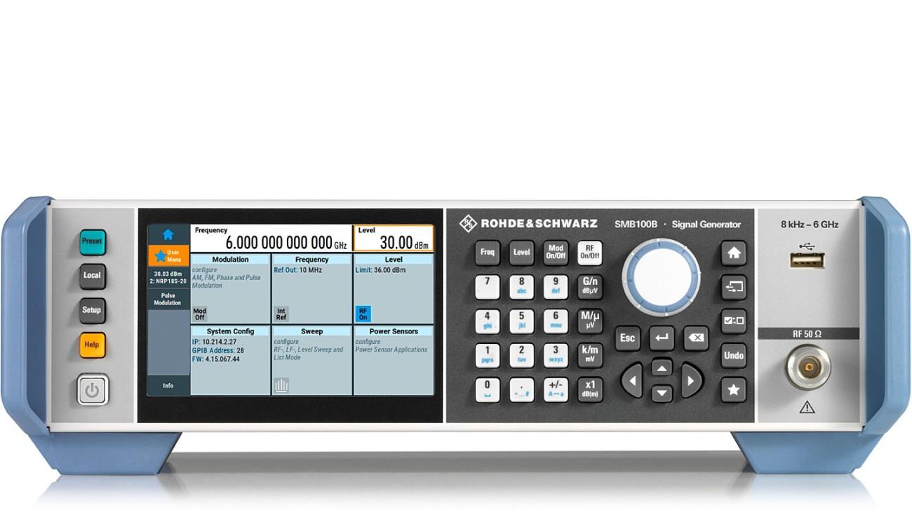R&S®SMB100B RF Signal Generator