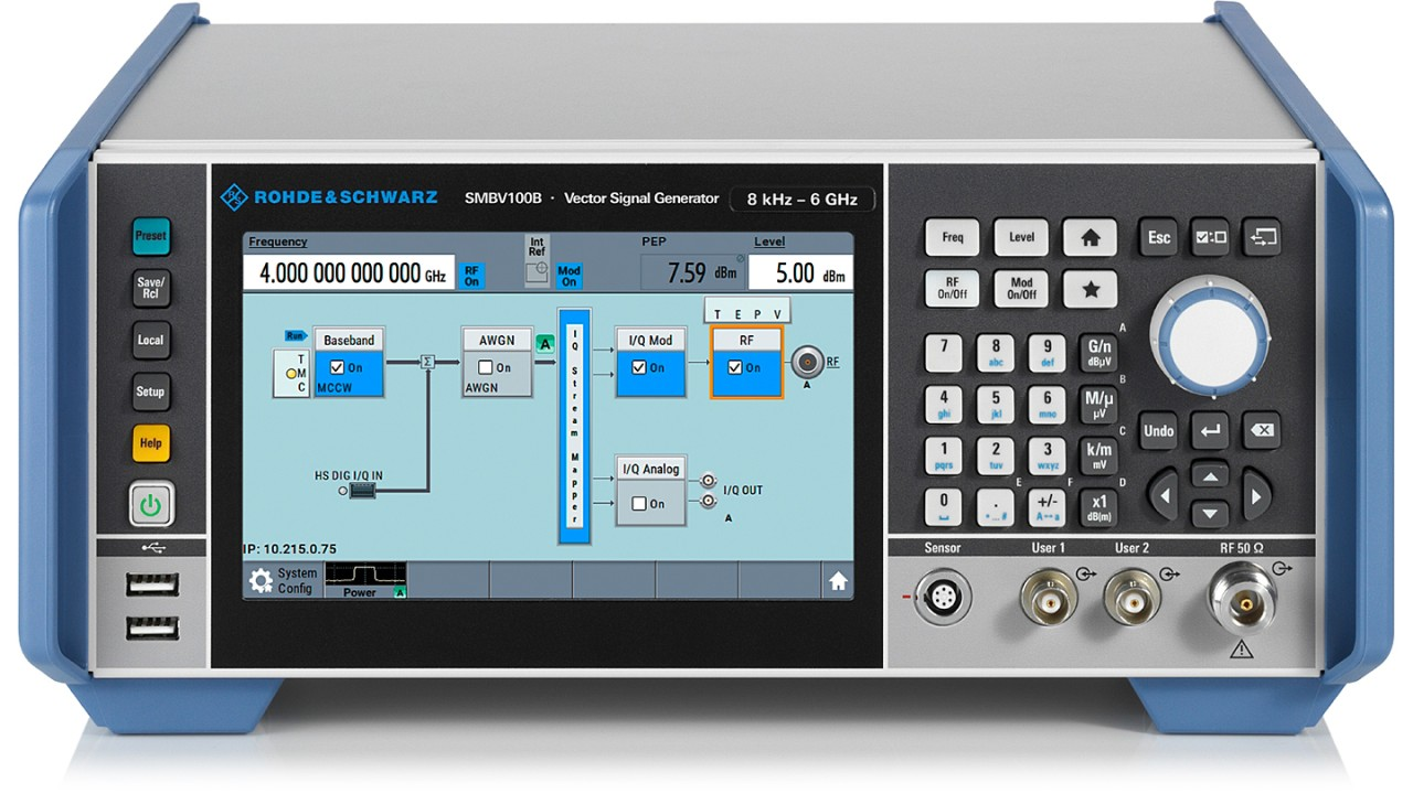 SMBV100B vector signal generator