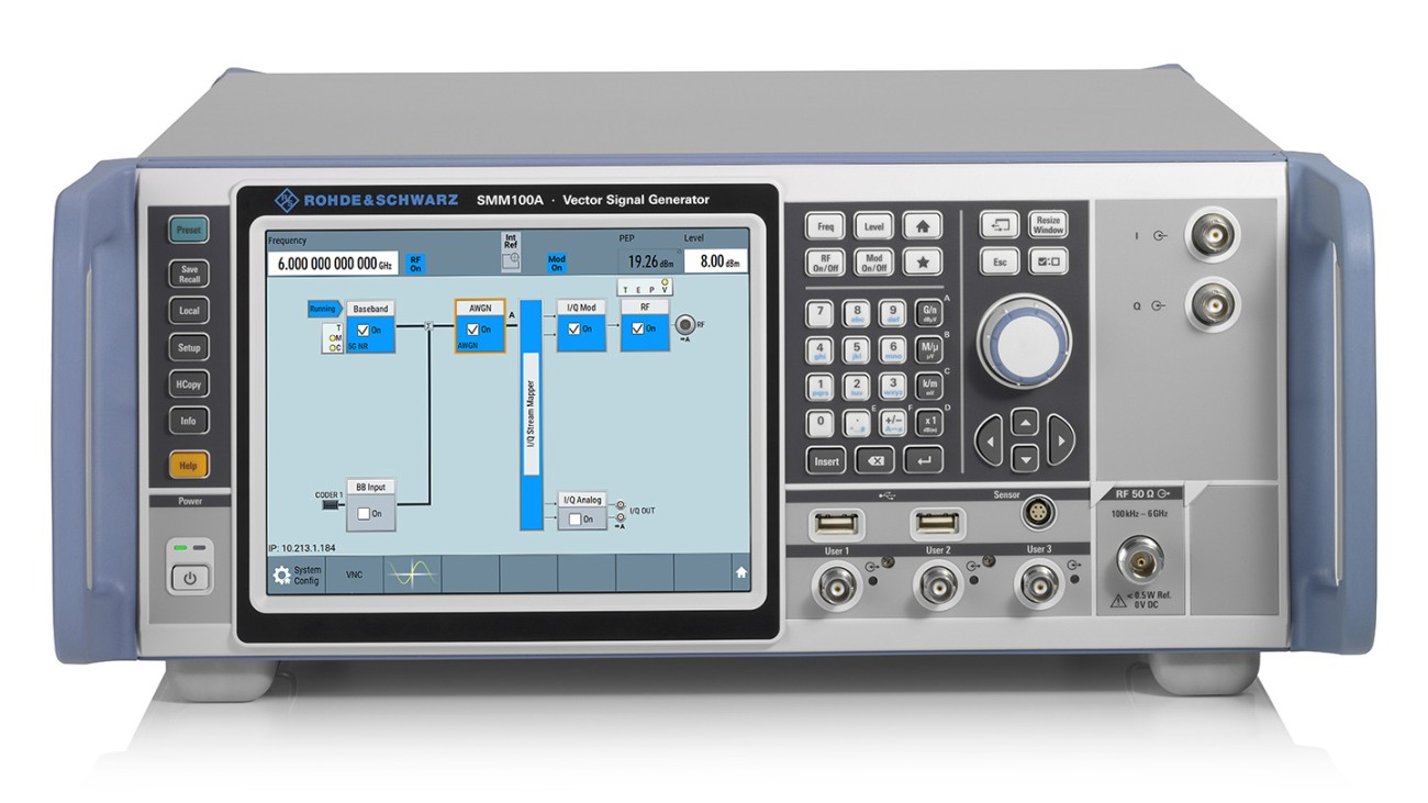 R&S®SMM100A vector signal generator