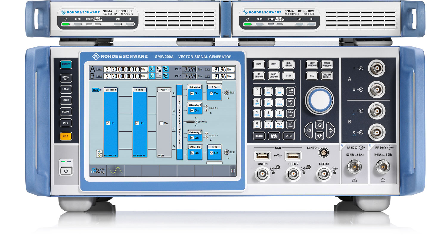R&S®SMW200A Vector Signal Generator | Overview | Rohde & Schwarz