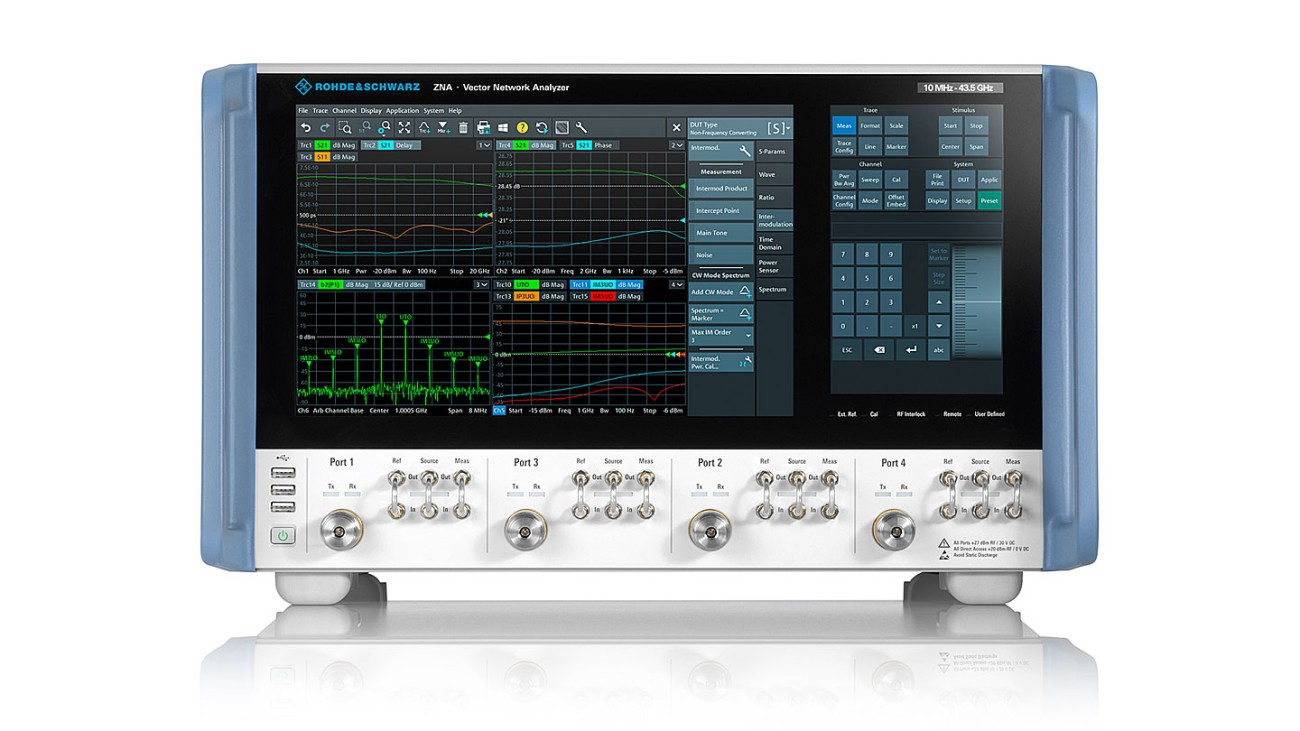 Compact solution for millimeter wave device testing