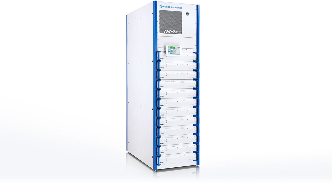R&S®THU9evo with 17.4 kW COFDM power